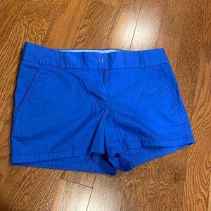 Blue J Crew shorts size 2